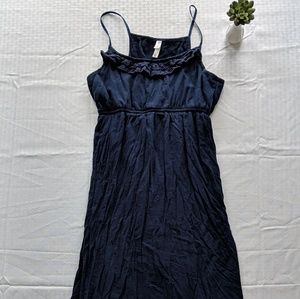 Xhilaration Long Navy Maxi Dress Medium